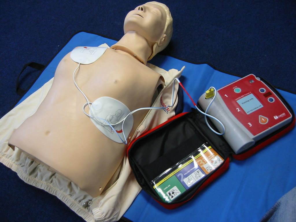 Automated External Defibrillator Instruction Perth
